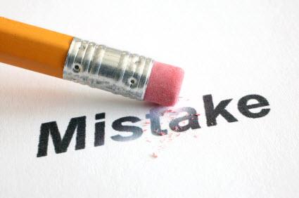 اخطاء تدوينية